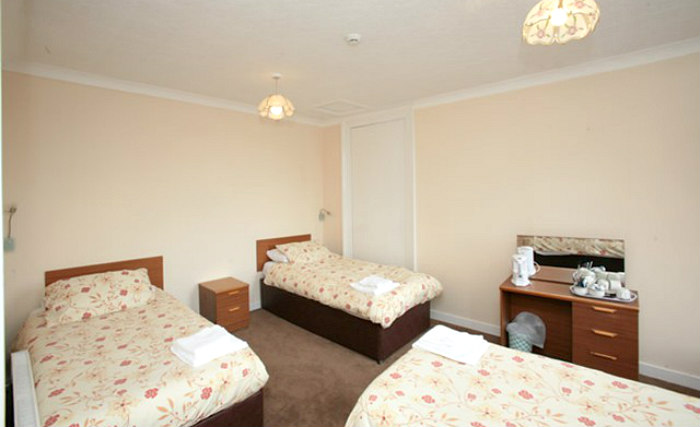 Triple rooms at Mclays Guest House are the ideal choice for groups of friends or families