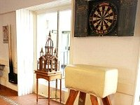 Fancy some darts? Plenty of fun and games to be had at the Hillspring Lodge