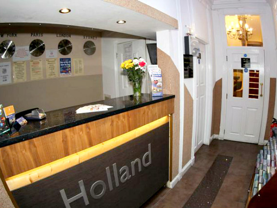 Holland Court Hotel has a 24-hour reception