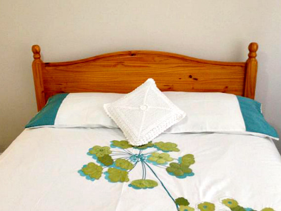 Get a good night's sleep in your comfortable room at Apple House Guest House