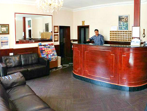 Camelot House Hotel has a 24-hour reception so there is always someone to help