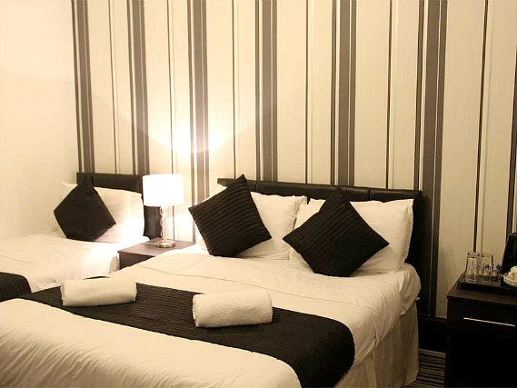 Triple rooms are the ideal choice for groups of friends or families