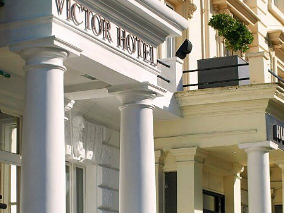The staff are looking forward to welcoming you to Victor Hotel London Victoria