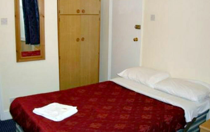 A double room at Plaza Hotel Hammersmith