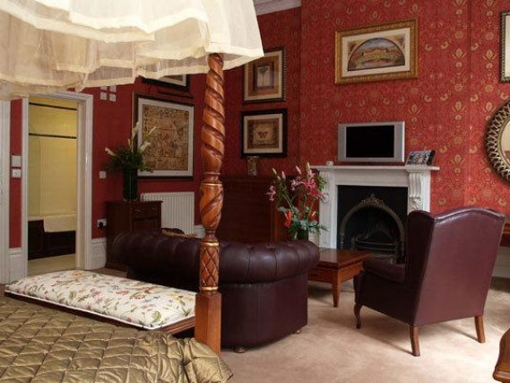 A double room at Opulence Central London is perfect for a couple