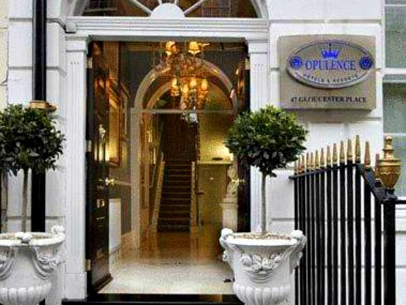 Opulence Hotel London is situated in a prime location in Marble Arch close to Edgware Road