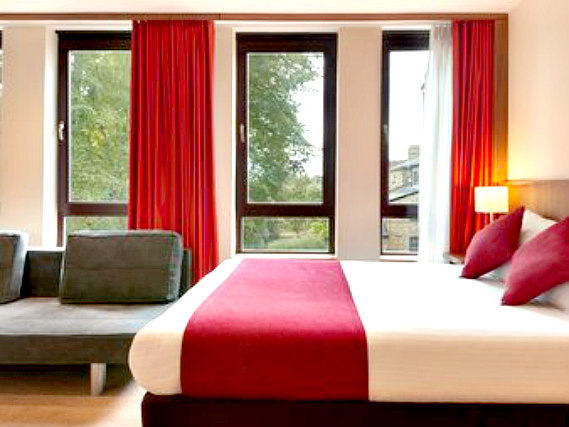 A double room at Ramada Hounslow - Heathrow East is perfect for a couple