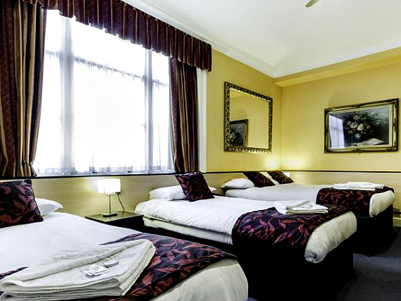 Quad rooms at Tudor Court Hotel are the ideal choice for groups of friends or families