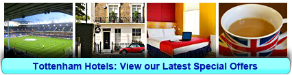 Tottenham Hotels: Book from only £13.75 per person!