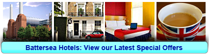 Battersea Hotels: Book from only £12.25 per person!