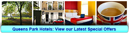 Queens Park Hotels: Book from only £13.28 per person!