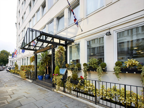 The staff are looking forward to welcoming you to Ambassadors Hotel London Kensington