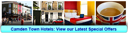 Camden Town Hotels: Book from only £16.25 per person!