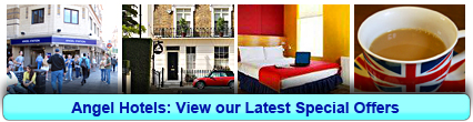 Angel Hotels: Book from only £15.00 per person!