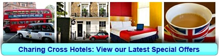 Charing Cross Hotels: Book from only £24.33 per person!