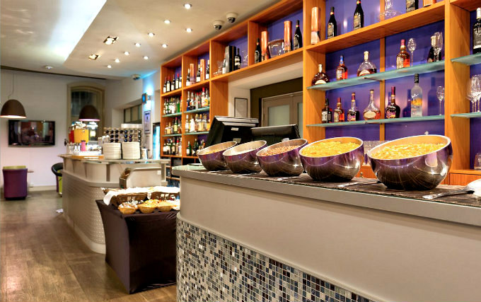 Enjoy a great breakfast at Ambassadors Hotel London