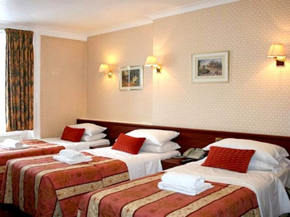 The Avon Hotel London has various room types to suit your needs whether you are a family or friends travelling together