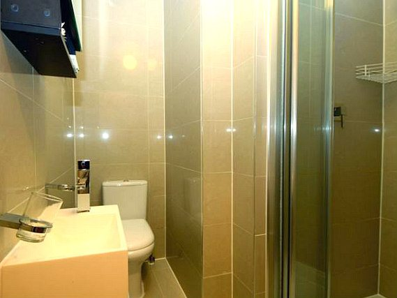 Relax in the private bathroom in your room at St Joseph Hotel London