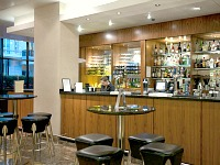 The bar at Central Park Hotel London