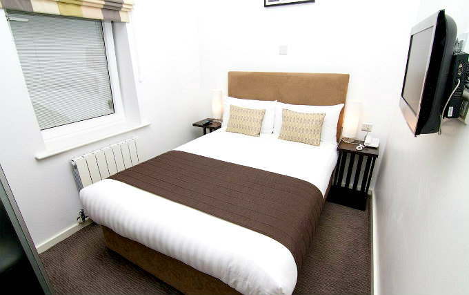 A double room at Euston Square London