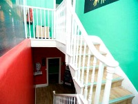 Staircase at Venture Hostel