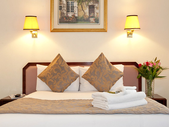 Get a good night's sleep in your comfortable room at Astor Court Hotel