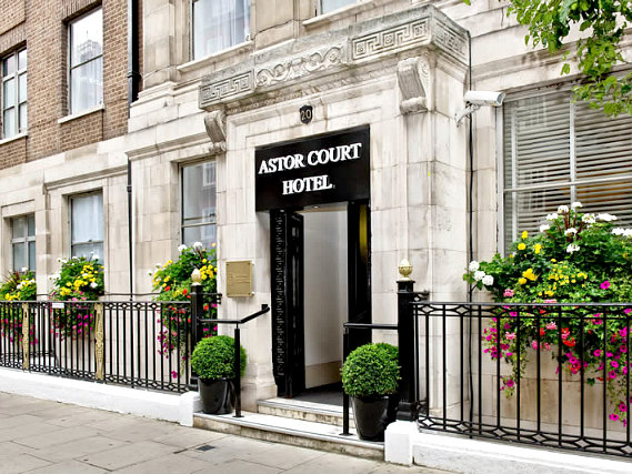 Astor Court Hotel is situated in a prime location in Marylebone close to Marylebone High Street