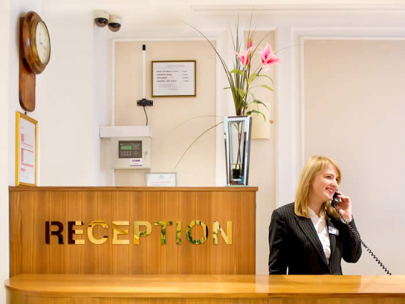 Astor Court Hotel has a 24-hour reception so there is always someone to help