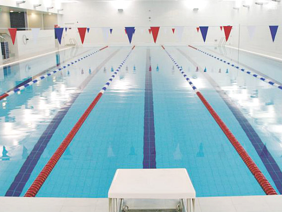 Make use of the Swimming pool at Ethos Sports Centre during your stay at Beit Hall London