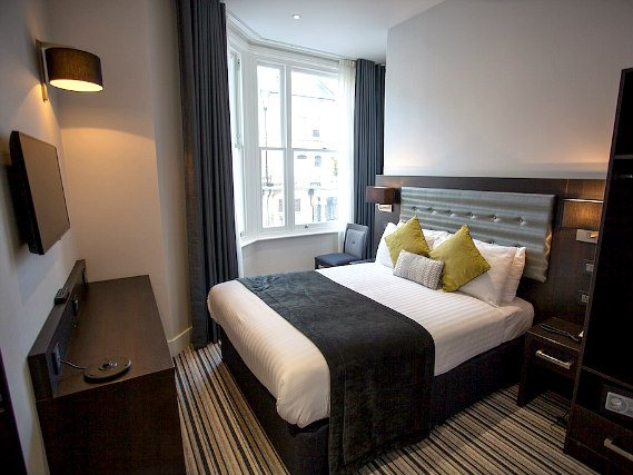 Get a good night's sleep in your comfortable room at The W14 Hotel London