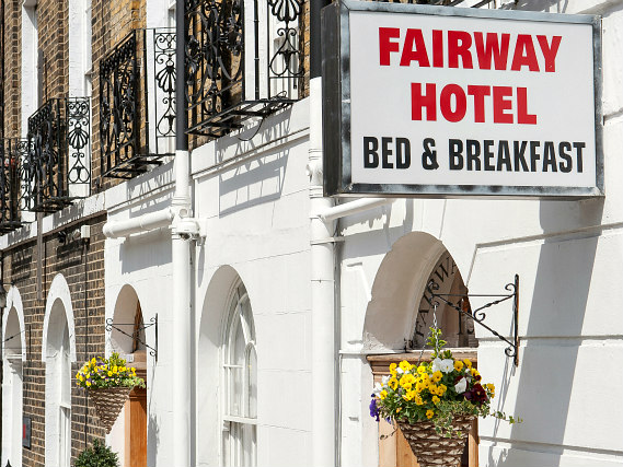 The staff are looking forward to welcoming you to Fairway Hotel London