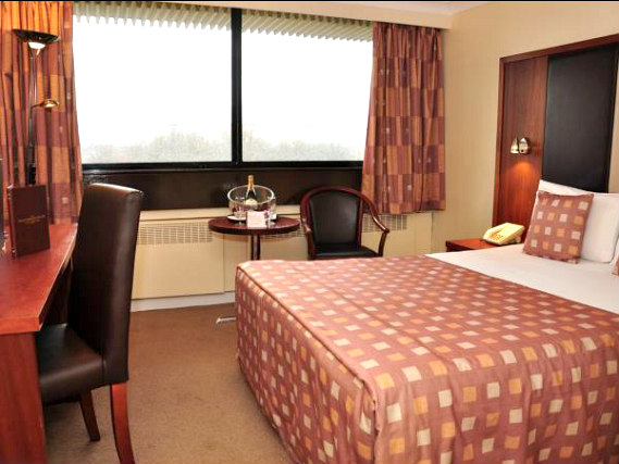 Get a good night's sleep in your comfortable room at Erskine Bridge Hotel
