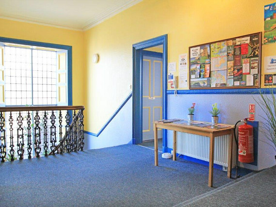 Common areas at St Andrews Tourist Hostel