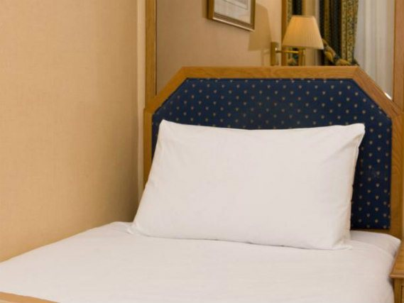 Single rooms at Best Western Burns Hotel provide privacy