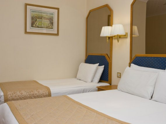 Triple rooms at Best Western Burns Hotel are the ideal choice for groups of friends or families