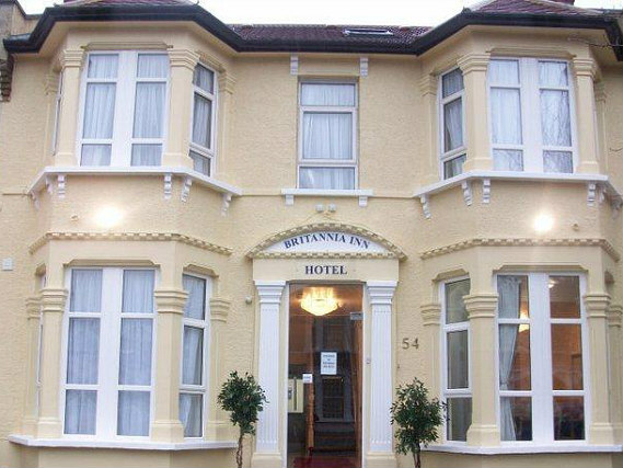 Britannia Inn Hotel is situated in a prime location in Ilford close to West Ham United FC Upton Park