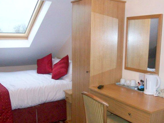 A double room at Britannia Inn Hotel is perfect for a couple