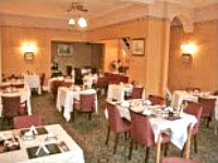The restaurant at the Stafford Hotel