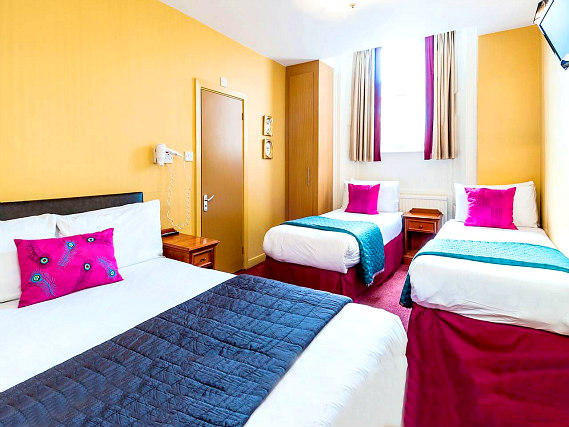 Quad rooms at Craven Hotel are the ideal choice for groups of friends or families