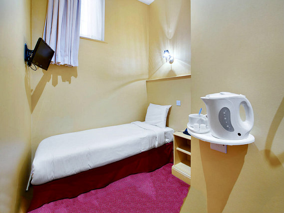 Single rooms at Craven Hotel provide privacy