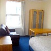 London hostel room