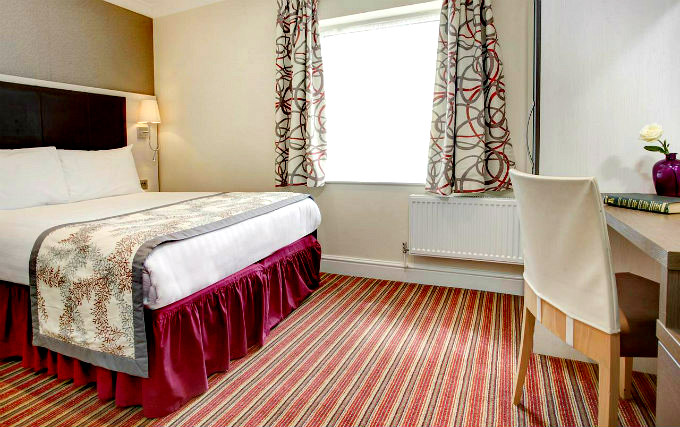 A typical double room at Chiswick Palace