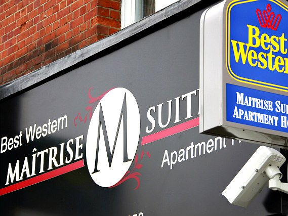 Best Western Maitrise Suites is situated in a prime location in Acton close to Kew Gardens