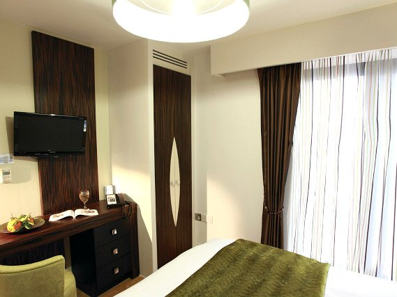 Rooms are simple but clean at Best Western Maitrise Suites