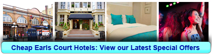 Book Cheap Hotels in Earls Court