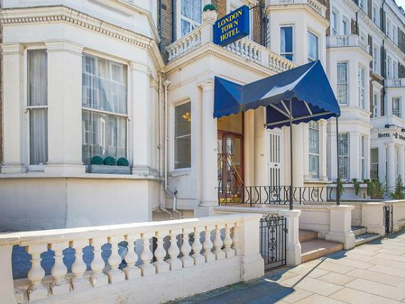 London Town Hotel is situated in a prime location in Earls Court close to Earls Court Exhibition Centre