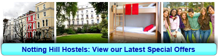 Book London Hostels in Notting Hill