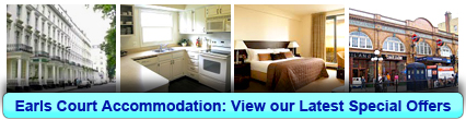 Book London Accommodation in Earls Court
