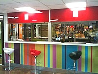 The bar at All Seasons London Leyton