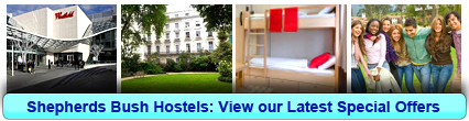 Book London Hostels in Shepherds Bush